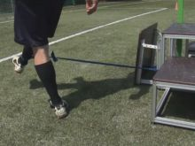 Football Jumpeak 213 and use of elastic